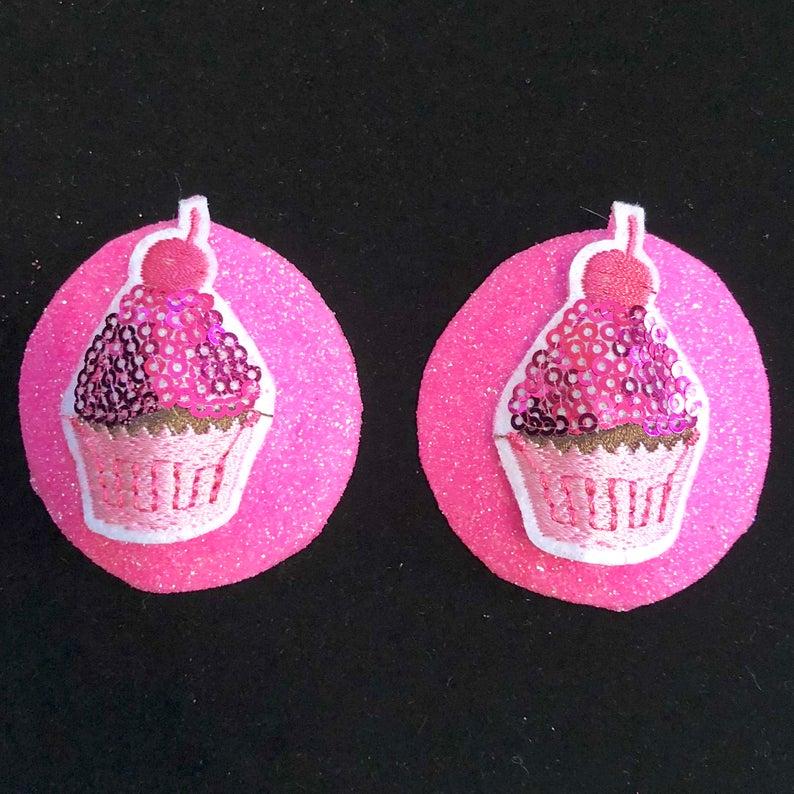 4ef34862d EDC Pasties Rave Festival Dessert EDC Nipple Pasties Cupcake