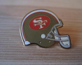 ab9bd00b8 Vintage San Francisco 49ers 1994 NFL Helmet Lapel  Hat Pin