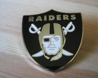 Vintage Los Angeles Oakland 1998 NFL Football Helmet Lapel/ Hat Pin