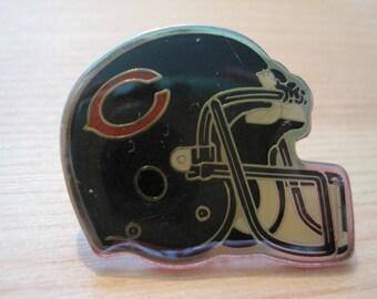 Vintage Chicago Bears NFL Football Helmet Lapel/ Hat Pin