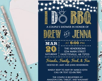 i do bbq invitation etsy