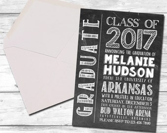 college graduation announcement etsy
