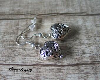 Earrings-Heart
