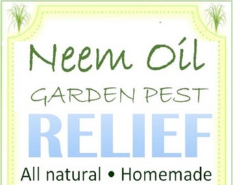 All Purpose Neem Oil Spray - 2 oz. Mini Size for Potted Plants - All Natural Fine Mist