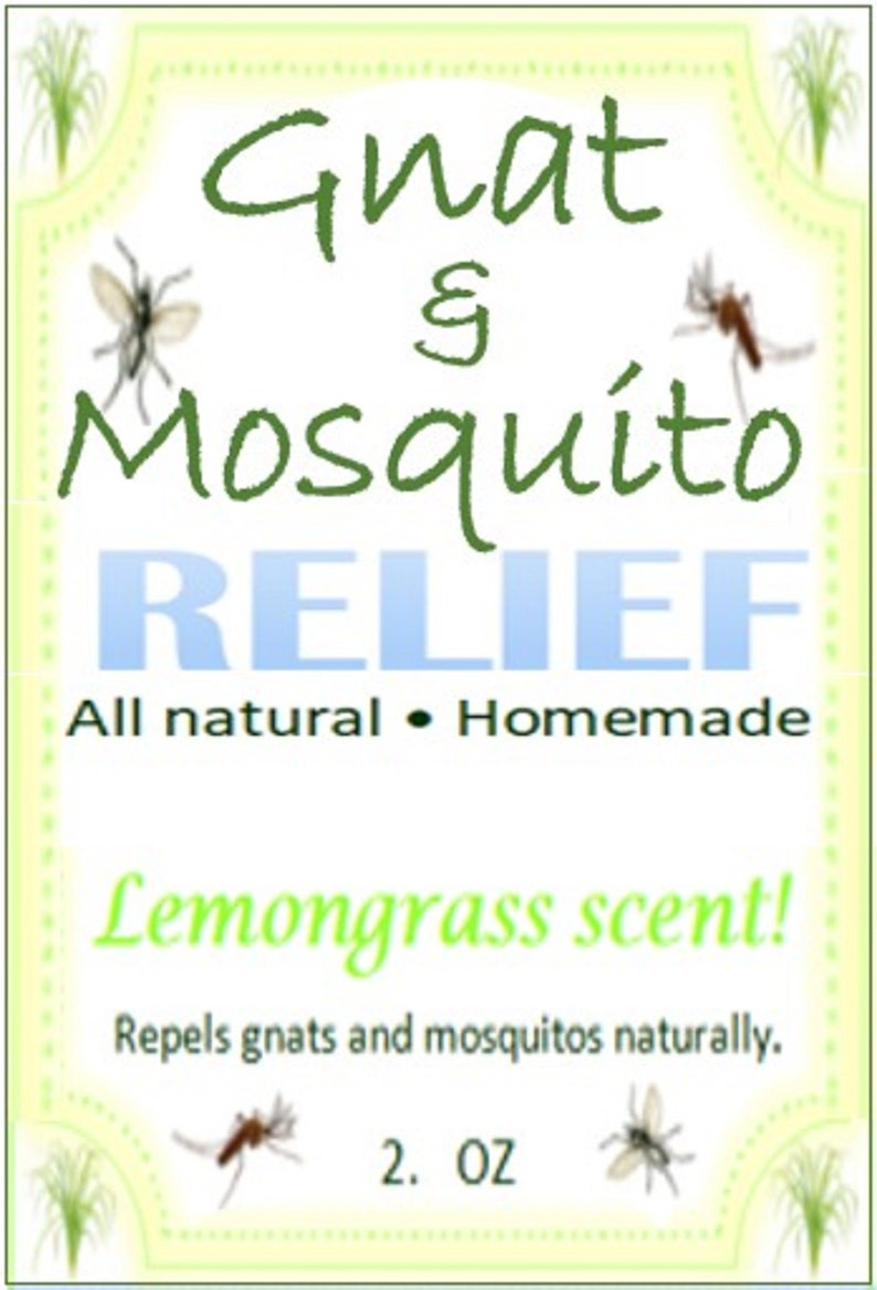 Effective Great Smelling Gnat Repellent. All Natural Repells image 0
