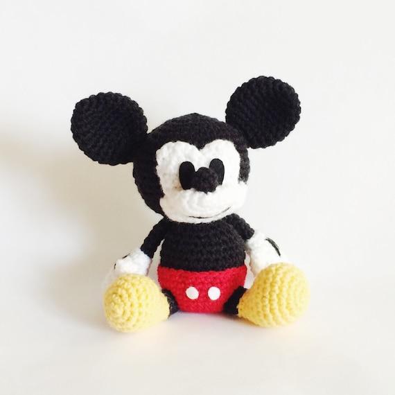Mickey Mouse Amigurumi Crochet Pattern PDF | Etsy