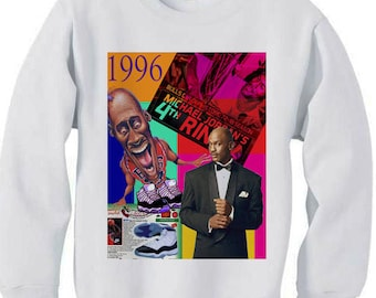 610da6c5854 Concord 11 xi history shirt dream team jordan retro bel air bird barkley tshirt  vintage spike lee bulls - fleece sweatshirt sweater white
