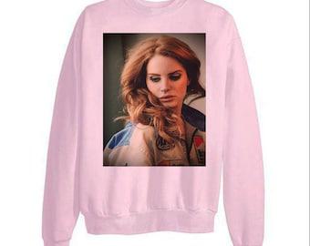 Lana Del Rey Sweatshirt Etsy