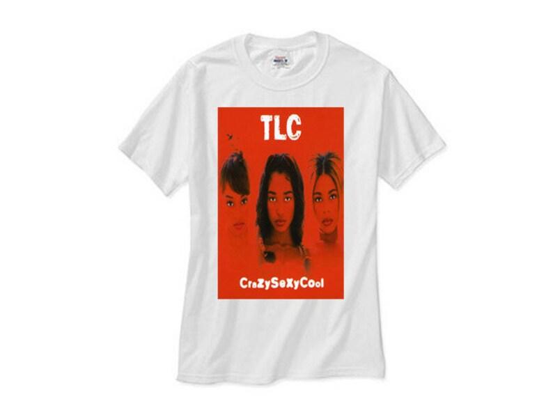 fb32ca6f19 Tlc crazy cool outkast left eye tboz chili t shirt rap tshirt | Etsy