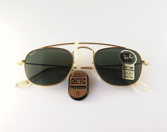 1d5549a4774 Rare Ray-Ban Arista Classic Collection gold - Vintage Sunglasses Bausch    Lomb - 80s Sunglasses - Authentic Vintage Sunglasses - NBW