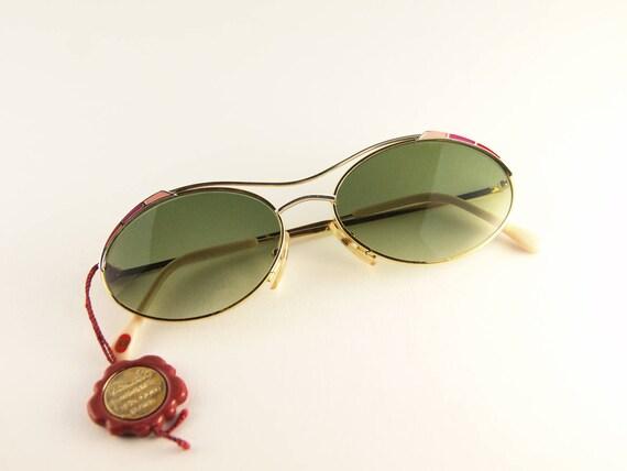 CASANOVA Vintage Sunglasses  - handmade 80s Sungla