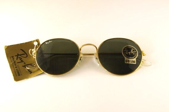 bc81bf98973989 Rare Ray-Ban John Lennon Vintage Sunglasses   Etsy