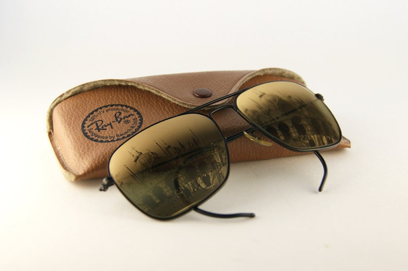 d0566696ac4 Rare Ray-Ban Caravan Vintage Sunglasses by Bausch   Lomb