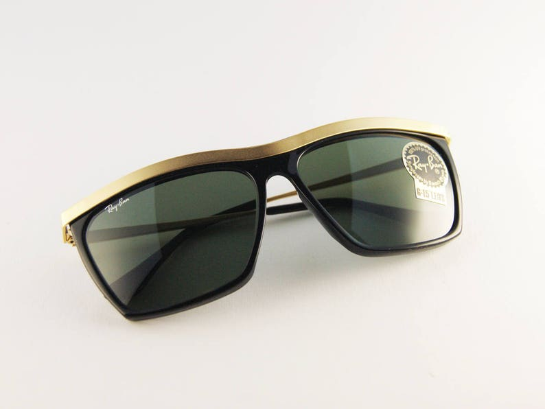df13f4c7c0 RAY-BAN Olympian III Sunglasses Bausch   Lomb 90s Ray-Ban