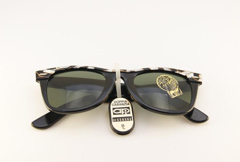 79584bb7015 Vintage Ray-Ban Wayfarer II Mosaic Rare Sunglasses Ray-Ban
