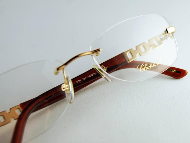 827fda3fc01 CHOPARD Vintage Glasses  90 Frame Luxury Eyeglasses