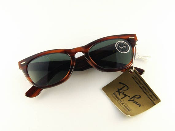 Ray-Ban LARAMIE Vinatge Ray-Ban wayfarer Sunglasses Bausch   Etsy b972699f659d