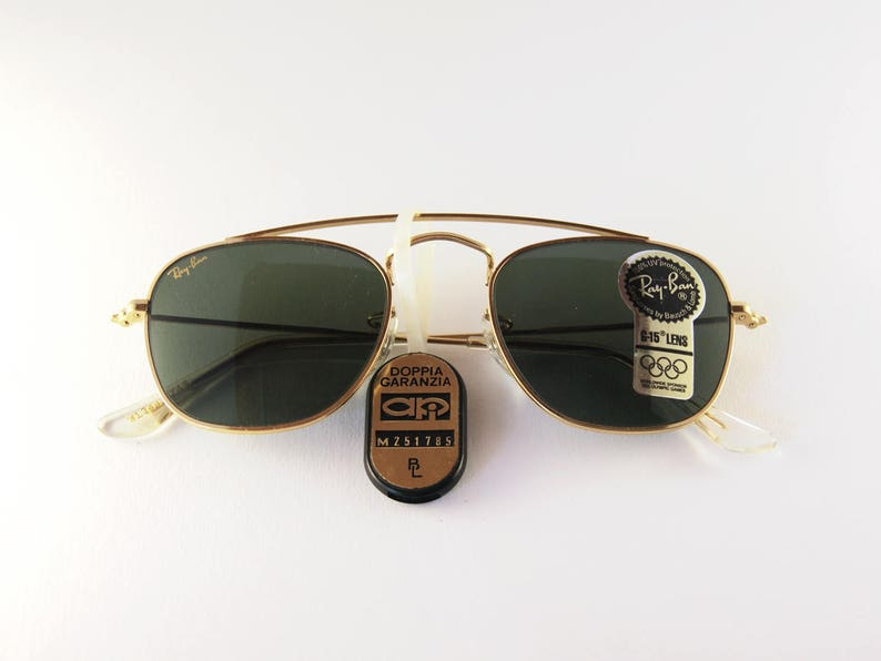 848dcd51b3 Rare Ray-Ban Arista Classic Collection gold Vintage