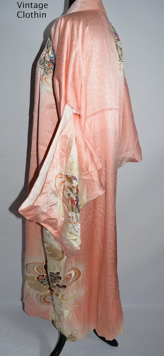 C1940s Vintage Japanese Kimono, Kimono, Kimono Ro… - image 2