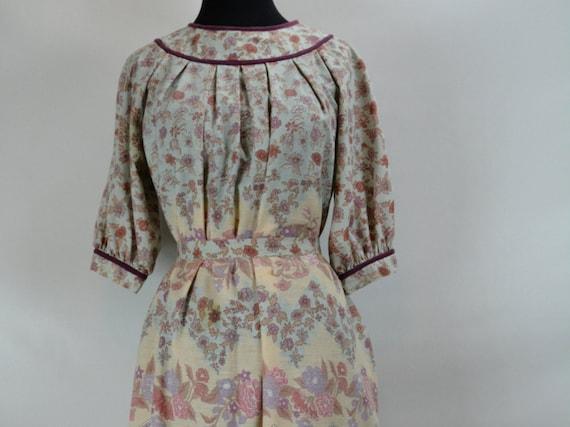 1970s Jonathan Logan Floral Miu Miu Dress, Miu Miu