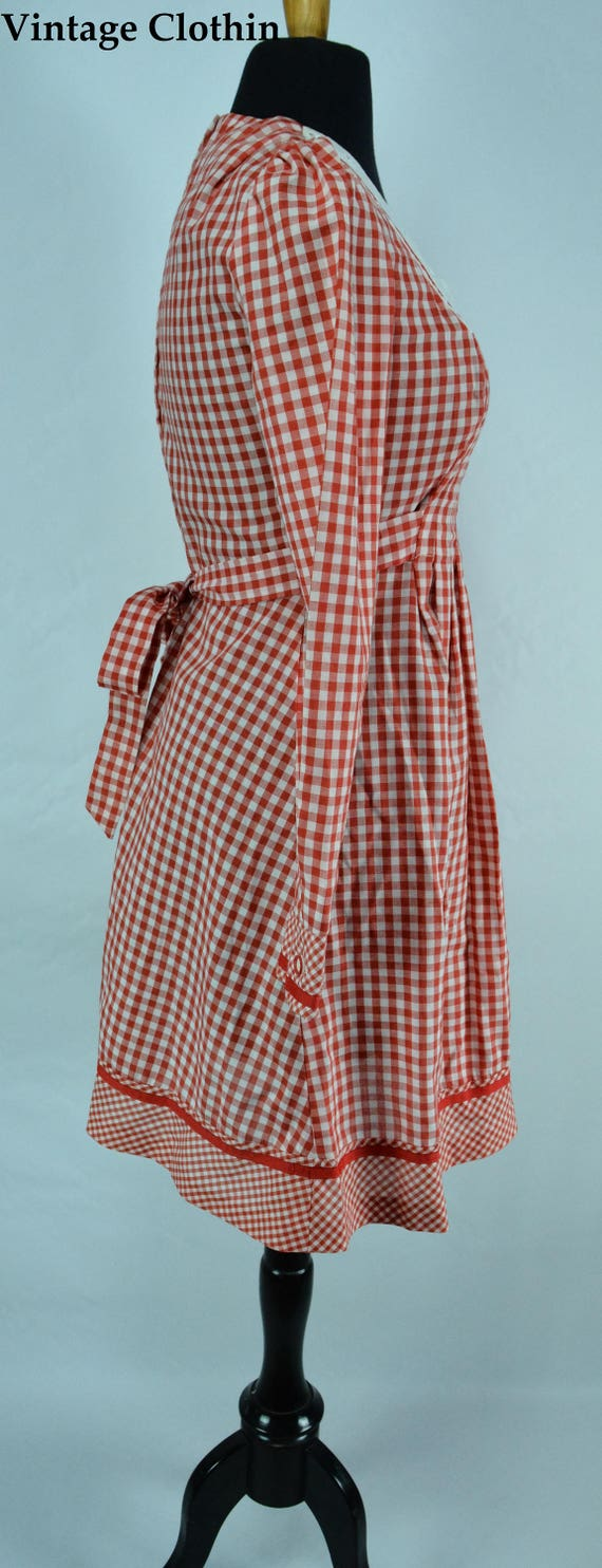1970s Gingham Dress, 1970s Dress, 70s Dress, Vint… - image 8