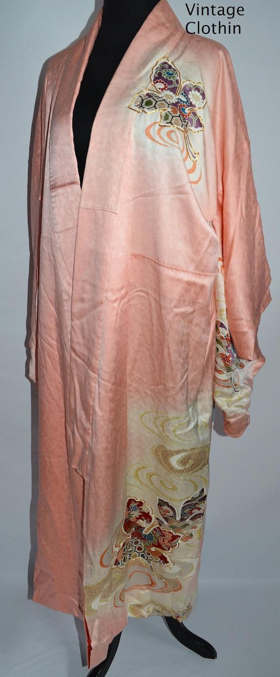 C1940s Vintage Japanese Kimono, Kimono, Kimono Rob