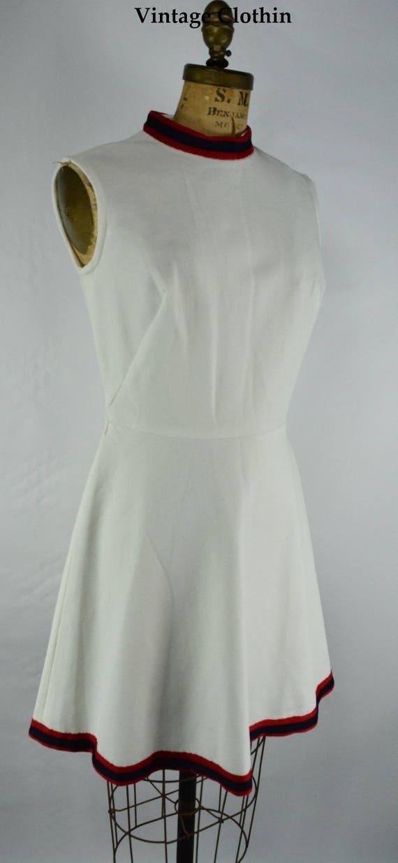 1960's Tennis Dress, 1960s Dress, Vintage Dress, 1