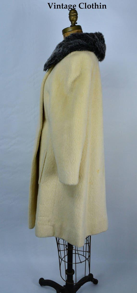 1950s Lilli Ann Mohair Coat, 1950s Lilli Ann Vint… - image 2