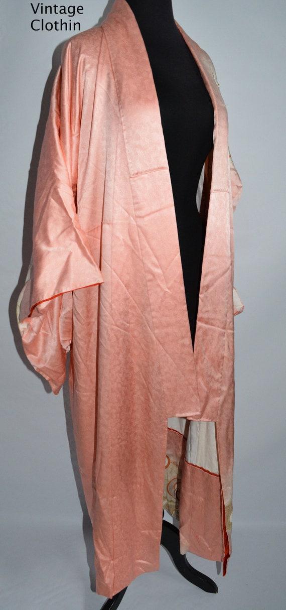 C1940s Vintage Japanese Kimono, Kimono, Kimono Ro… - image 10