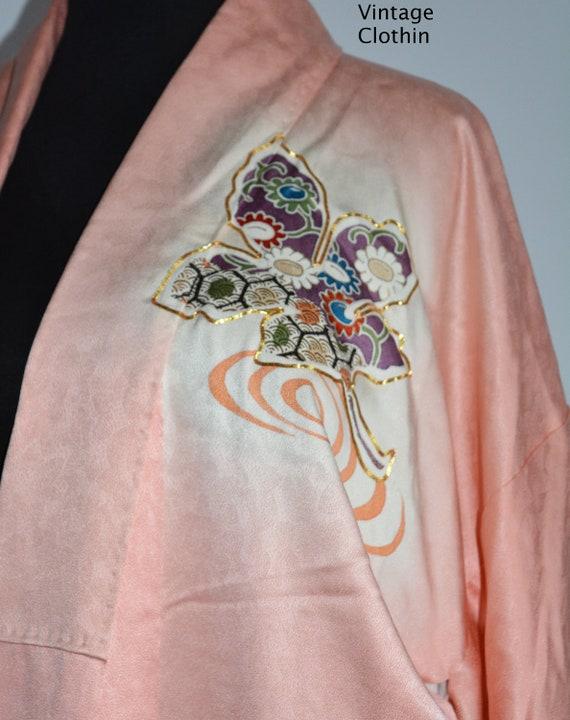 C1940s Vintage Japanese Kimono, Kimono, Kimono Ro… - image 6