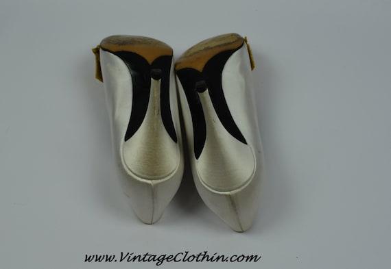 1980s Vintage Yves Saint Laurent Shoes, YSL Shoes… - image 4
