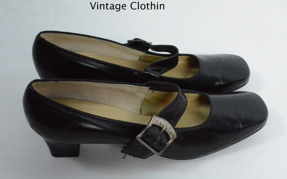 1960s Auditions Black Pumps, New Old Stock, 1960s