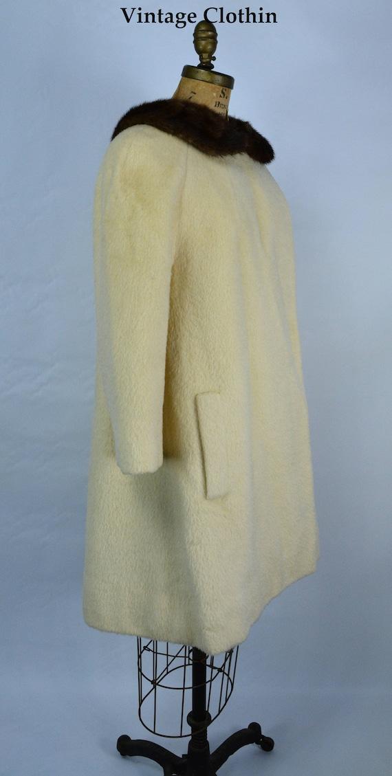 1950s Lilli Ann Mohair Coat, 1950s Lilli Ann Vint… - image 6