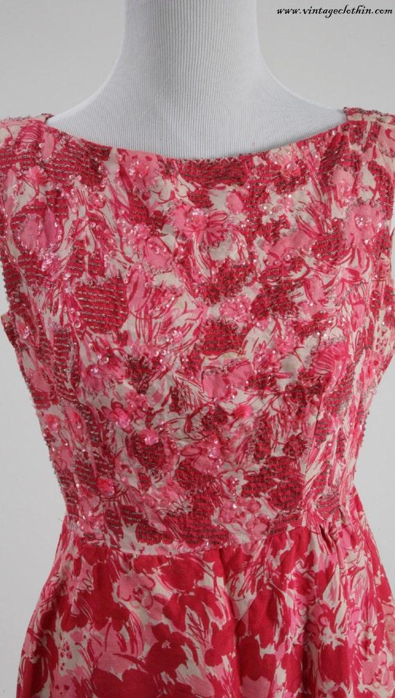 1950s Beaded Wiggle Dress, 1950s Dress, Wiggle Dr… - image 2