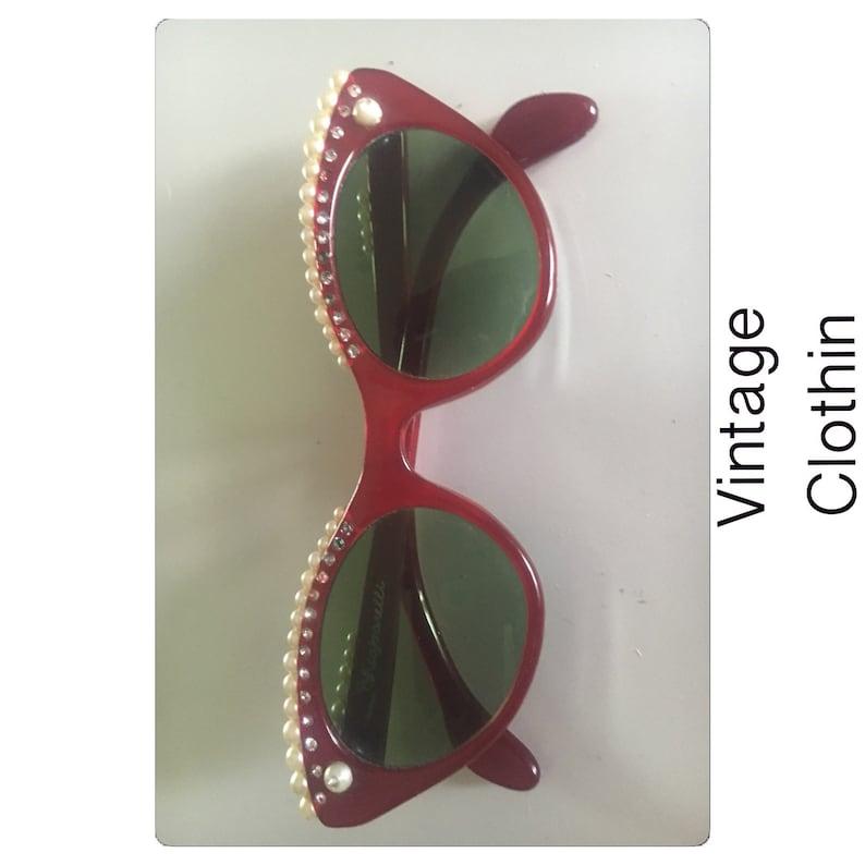 04bc469435 1958 Elsa Schiaparelli Lunettes Cats Eye Sunglasses Cats Eye