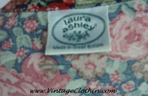 1980s Laura Ashley Floral Dress, Vintage Dress, 1… - image 4