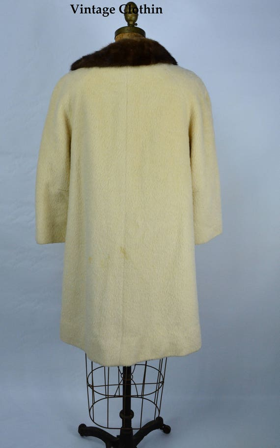 1950s Lilli Ann Mohair Coat, 1950s Lilli Ann Vint… - image 4