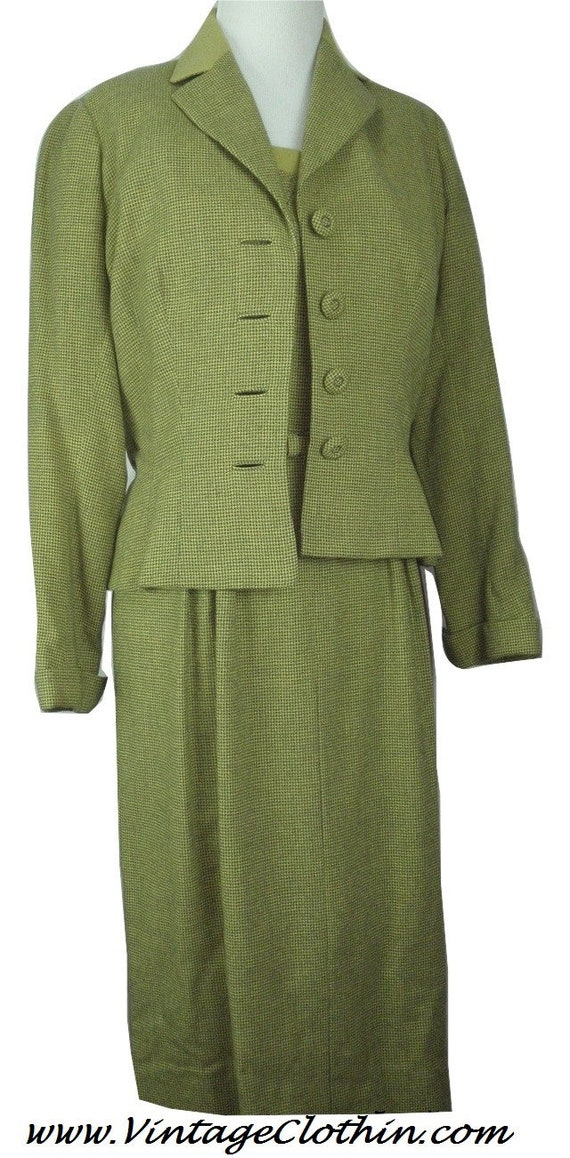 1940s Designer Originals Frances Shop Dress and Ja
