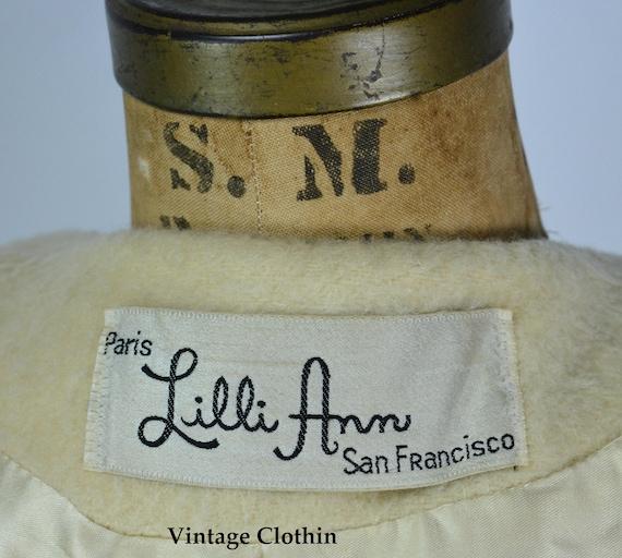 1950s Lilli Ann Mohair Coat, 1950s Lilli Ann Vint… - image 10
