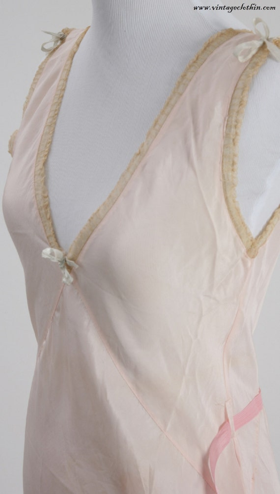 1930's Nightgown, Nightgown, Vintage Nightgown, Li
