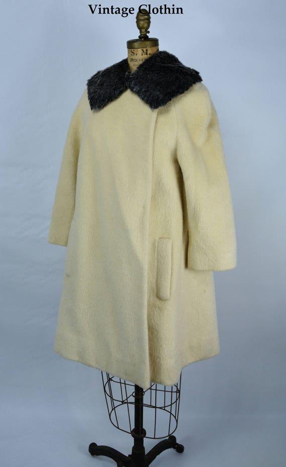1950s Lilli Ann Mohair Coat, 1950s Lilli Ann Vinta