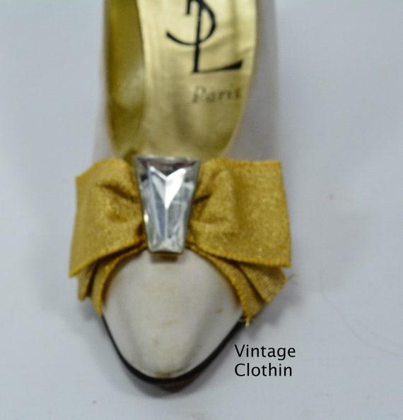 1980s Vintage Yves Saint Laurent Shoes, YSL Shoes… - image 8