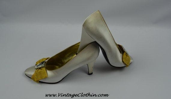 1980s Vintage Yves Saint Laurent Shoes, YSL Shoes… - image 2