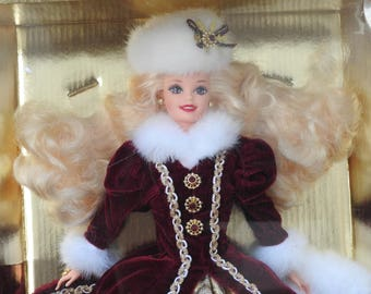 1996 Happy Holidays Christmas Barbie # 15646