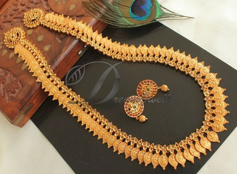4500b7496 Traditional Necklace Set /Indian necklace Wedding Jewelry/ | Etsy