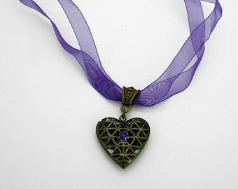 Keepsake Necklace - Violet