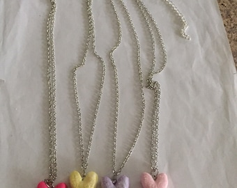 Marshmallow Bunny Necklaces!!