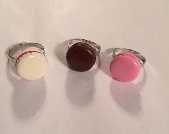 French Macaron Rings!!
