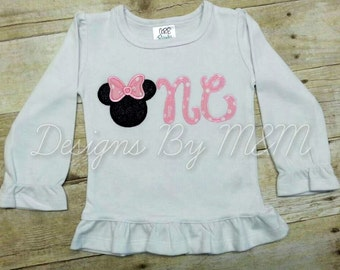 Minnie Mouse First Birthday Shirt, Minnie Mouse Birthday Shirt, Minnie First Birthday Shirt, Minnie 1st Birthday Shirt, Minnie Birthday Shir