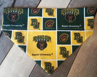 b52b2e37a00 Baylor University Bears dog bandana, baylor university bandana, bears  bandana, baylor dog collar, Baylor University dog bandana,baylor gifts